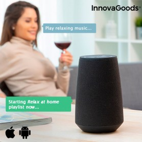 Smart Speaker Bluetooth Assistente Virtuale VASS InnovaGoods
