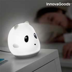 Lampada Touch Ricaricabile in Silicone Panda InnovaGoods