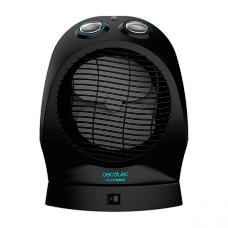Termoventilatore Portatile Cecotec Ready Warm 9750 Rotate Force 2400W Nero