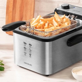 Friggitrice Cecotec CleanFry Infinity 3000 3 L 2400W Acciaio inossidabile