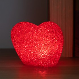 Cuore con LED Multicolor Porporina